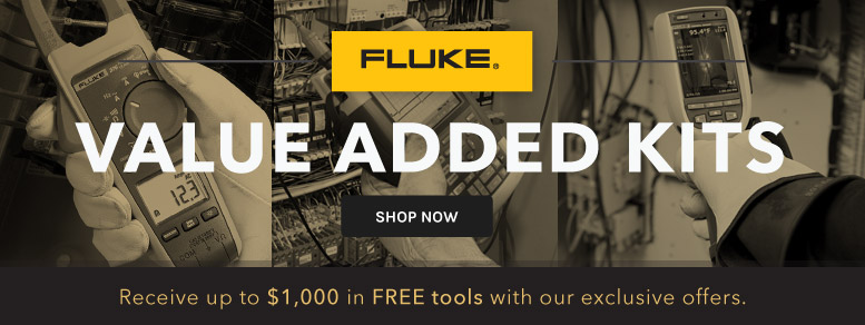 Fluke Value Added Kits loaded with Free tools