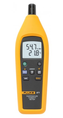 Fluke Humidity Probe : Fluke temperature humidity meter