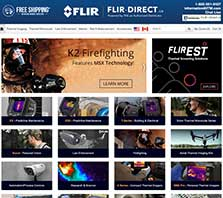 Flir-Direct.com - Carrying a full selection of FLIR Thermal Imagers and Test Tools