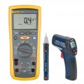 Fluke 1587-KIT3 Insulation Multimeter Kit - Includes the R2002 Compact Infrared Thermometer & the R5100 AC Voltage Detector FREE-