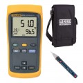 Fluke 51-2-KIT2 Single Input Thermometer Kit - Includes the CA-05A & the R5100 AC Volatge Detector FREE-