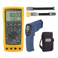 Fluke 789-KIT5 Process Meter Kit - Includes the CA-05A Soft Carry Case, R2001 Infrared Thermometer & the TPAK Magnetic Meter Hanger FREE-