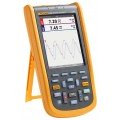 Fluke 125B/S Industrial ScopeMeter® Hand-Held Oscilloscope with FlukeView™ software, 40 MHz-