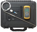 Fluke 1523-P4-156 Single Channel Reference Thermometer Kit, with Case-