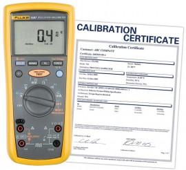 Fluke 1587 Fc Nist Insulation Multimeter