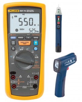 Fluke 1587FC Insulation Multimeter Kit - Includes FREE Products with  Purchase