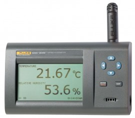 Fluke 1622A-H-156 DewK Thermo-Hygrometer Wireless Kit, high accuracy -