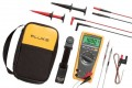 Fluke 179/EDA2 True RMS Digital Multimeter and Deluxe Accessory Combo Kit-