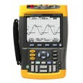Fluke 190-502/AM/S ScopeMeter Portable Oscilloscope Test Tool Kit, 2 Channel, 500MHz -