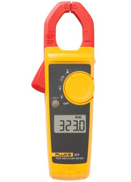 Fluke 323 True RMS Clamp Meter, 400 A-