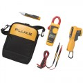 Fluke 62 MAX+/323/1AC IR Thermometer, Clamp Meter and Voltage Detector Kit-