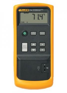 Fluke 714 fluke thermocouple calibrator | v dc: -10m÷75mv; -200.