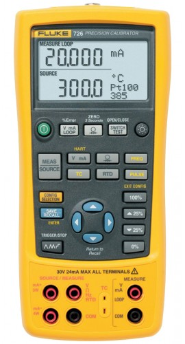 Fluke 726 Precision Multifunction Process Calibrator-