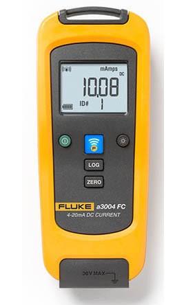 Fluke A3004FC Wireless 4-20 Milliamp DC Clamp Meter.