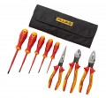 Fluke IKST7 Insulated Hand Tool Starter Kit & Roll Up Tool Pouch, 1000 V-