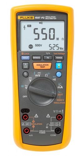 Fluke Megger Meter : Fluke fc insulation multimeter v
