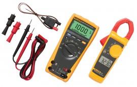 Fluke 179 True RMS Digital Multimeter with True RMS AC clamp meter kit