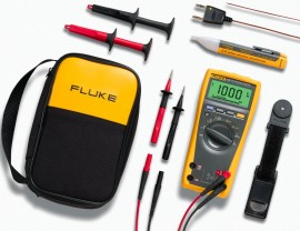 Fluke 179 True RMS Digital Multimeter with VoltAlert non-contact voltage  tester kit