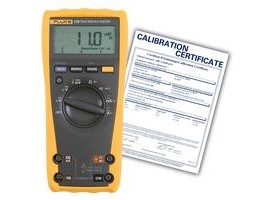 Fluke 179/EFSP-NIST True RMS Digital Multimeter with built-in thermometer,