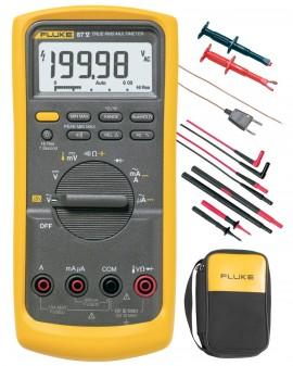 fluke 87v e2 electrician combo kit rh fluke direct com Fluke 87V Multimeter Manual Fluke Multimeter User Manual Model 135 S