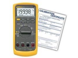 Fluke 87v Nist True Rms Industrial Multimeter With Temperature
