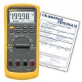 Fluke 87V-NIST True RMS Industrial Multimeter with temperature, -