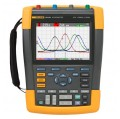 Fluke 190-104/AM/S ScopeMeter Oscilloscope with SCC-290 KIT, 4 Channel, 100MHz-
