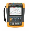Fluke 190-204/AM ScopeMeter Oscilloscope with SCC-290 KIT, 4 Channel, 200MHz-