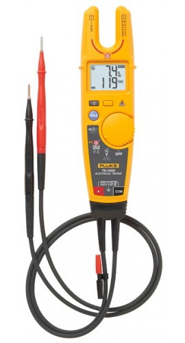 fluke t6 1000 electrical tester fieldsense technology 1000v ac