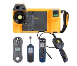 Fluke TIX501-KIT Infrared Camera Kit - Includes FREE Products with Purchase-