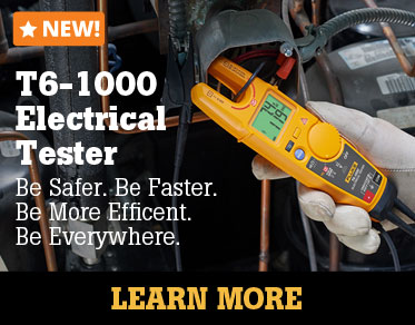 Fluke's NEW T6 Electrical Testers